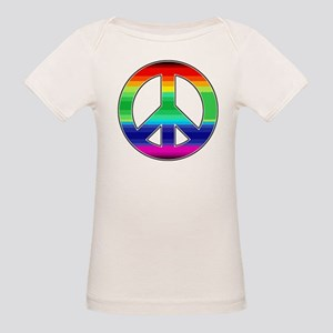 Peace Sign 2 Organic Baby T-Shirt